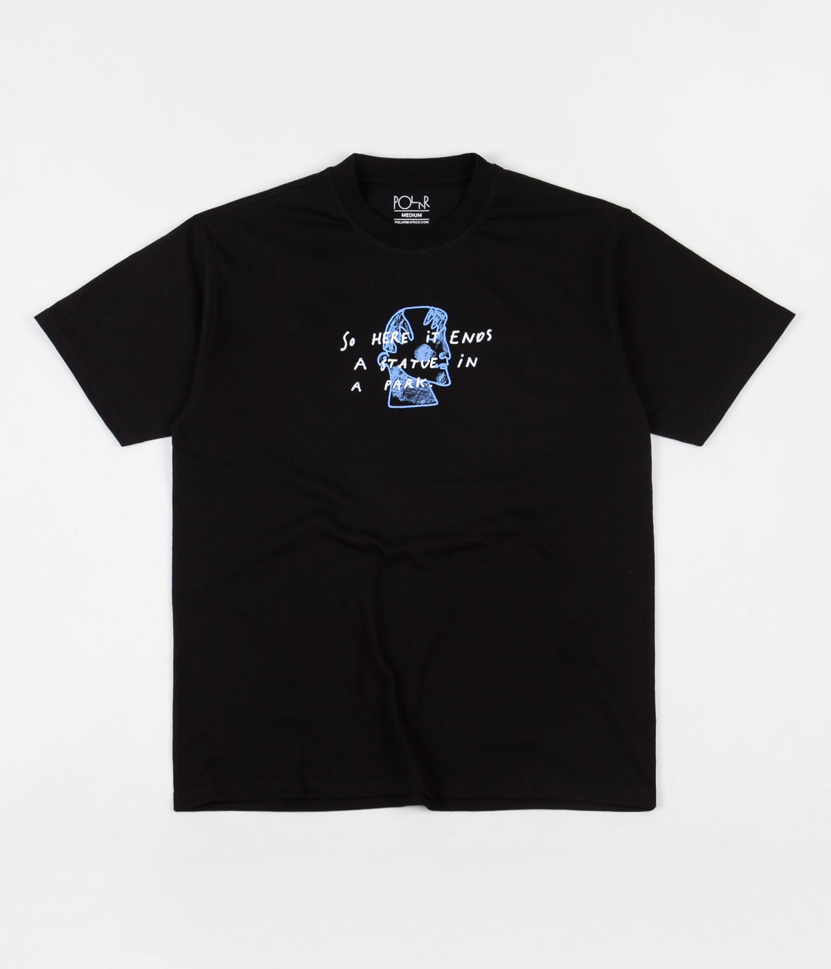 Polar Marble T-Shirt - Black