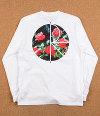 Polar Marta's Roses Long Sleeve T-Shirt - White