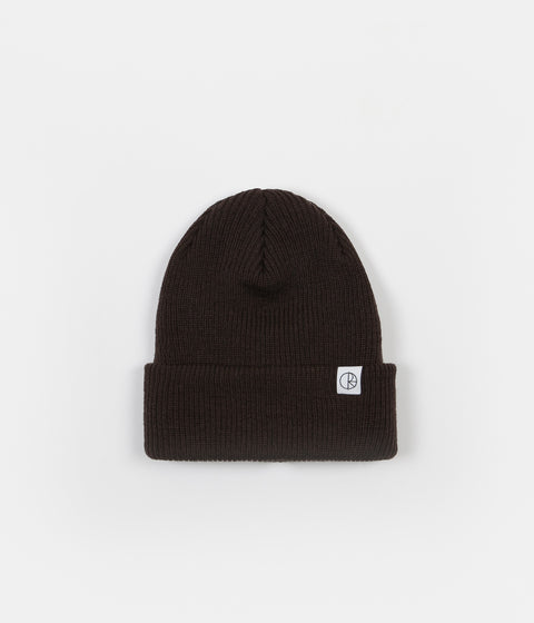 Polar Merino Wool Beanie - Brown