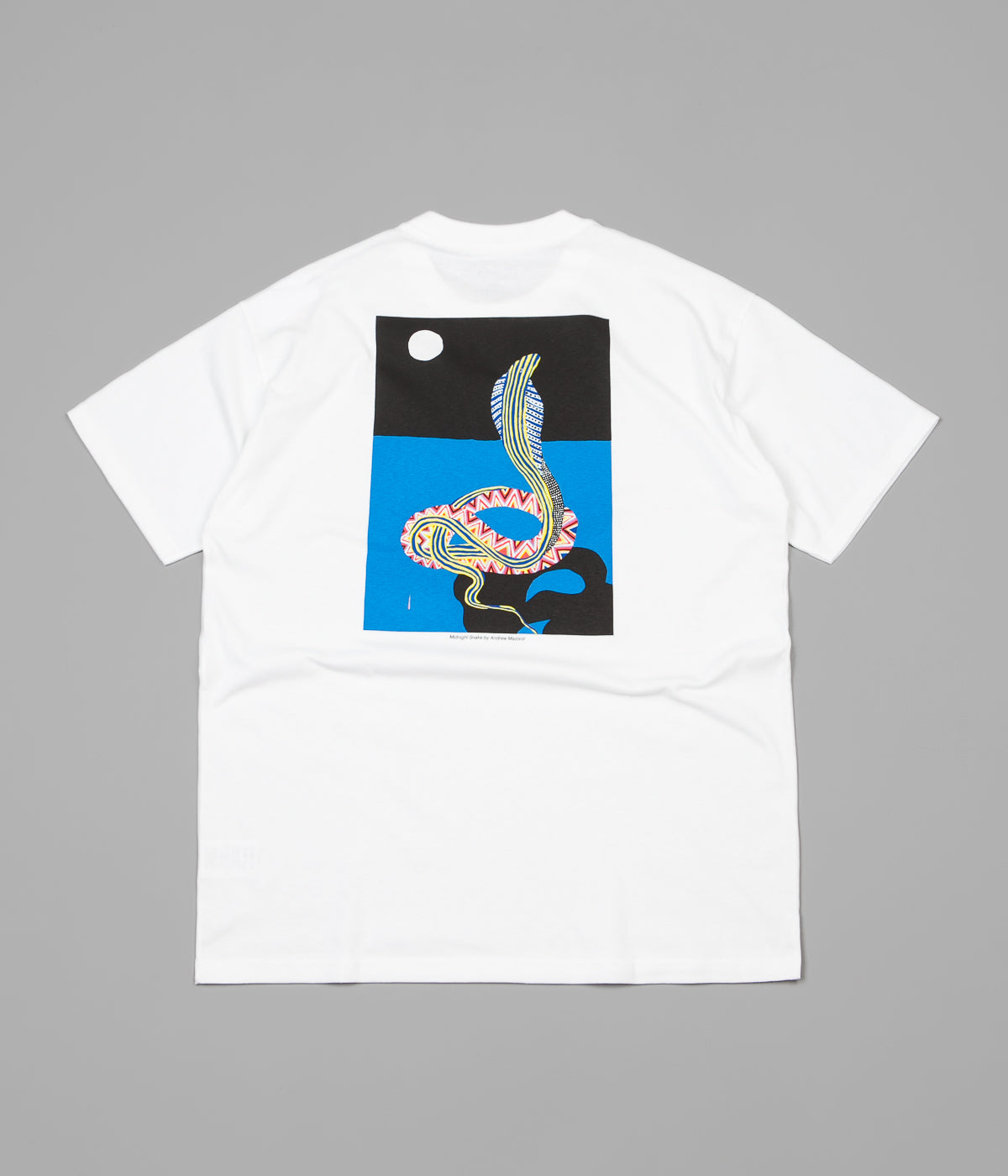 Polar Midnight Snake T-Shirt - White