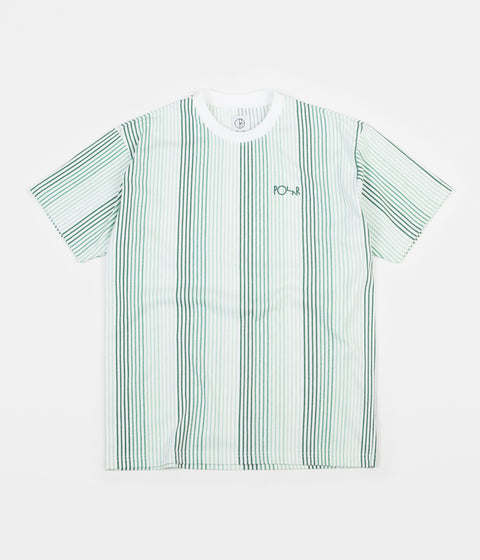 Polar Multi Colour T-Shirt - White / Green