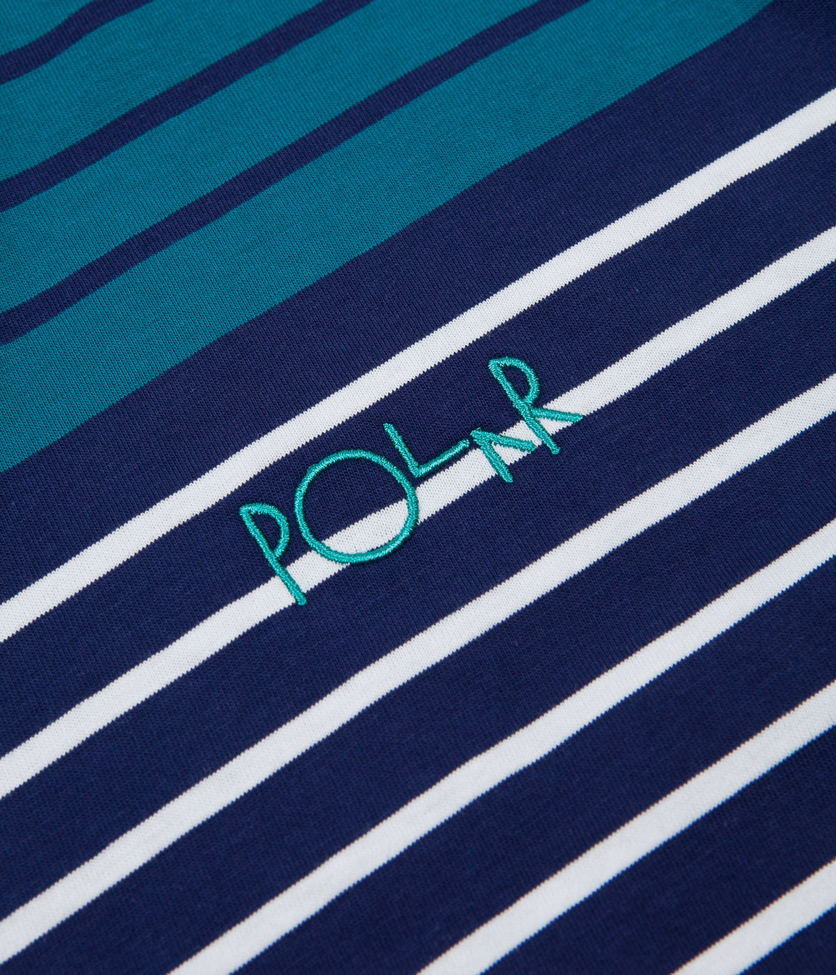 Polar Multicolour Long Sleeve T-Shirt - Navy / Pink