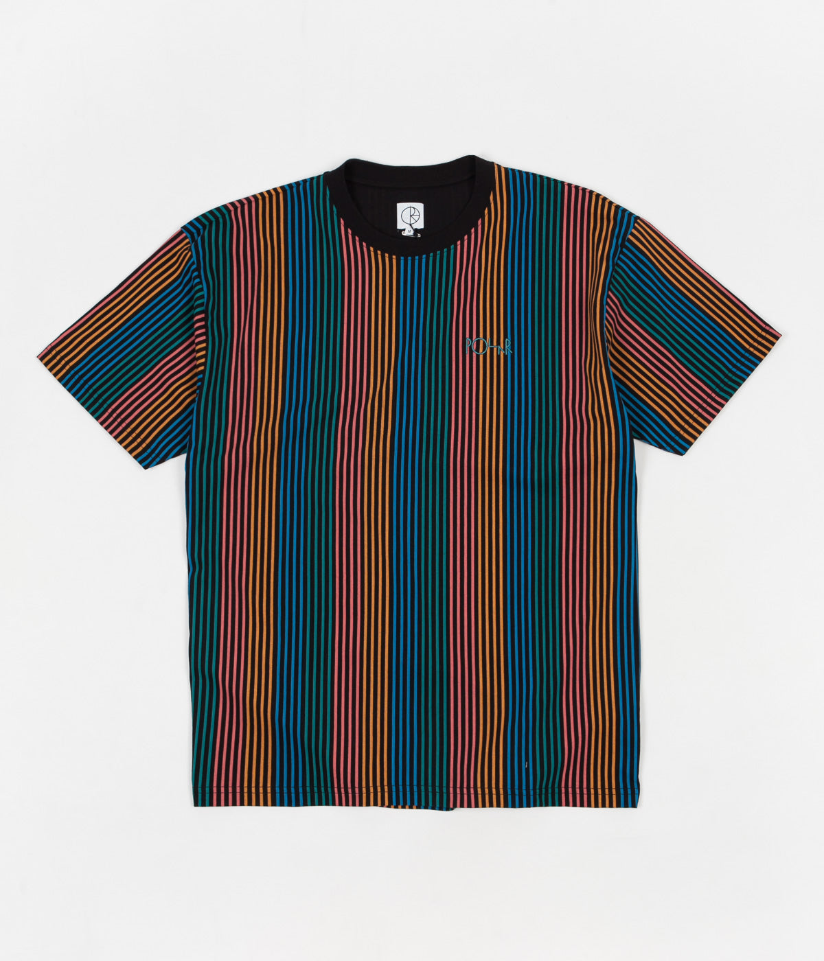 Polar Multicolour T-Shirt - Black