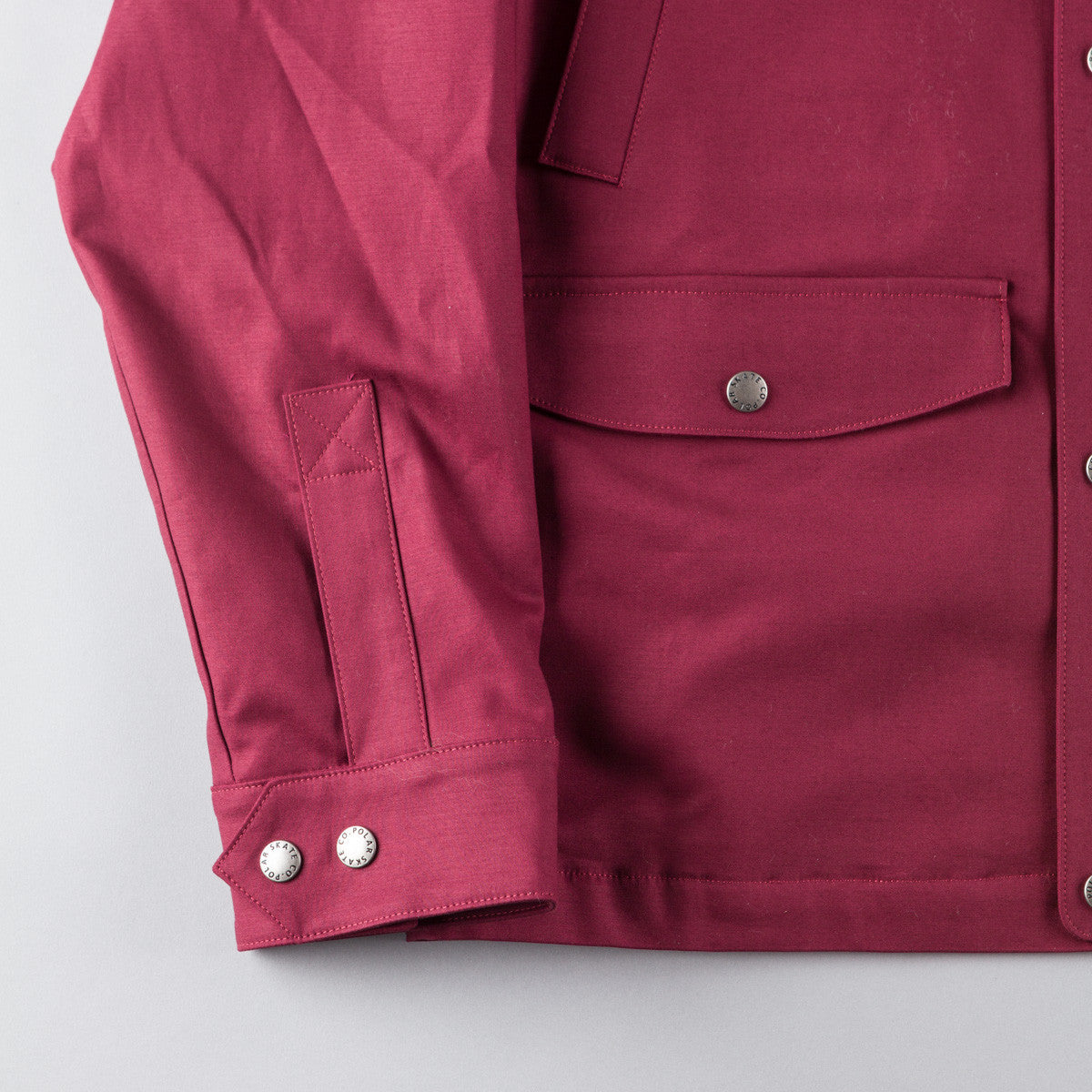 Polar Nautical Jacket - Burgundy