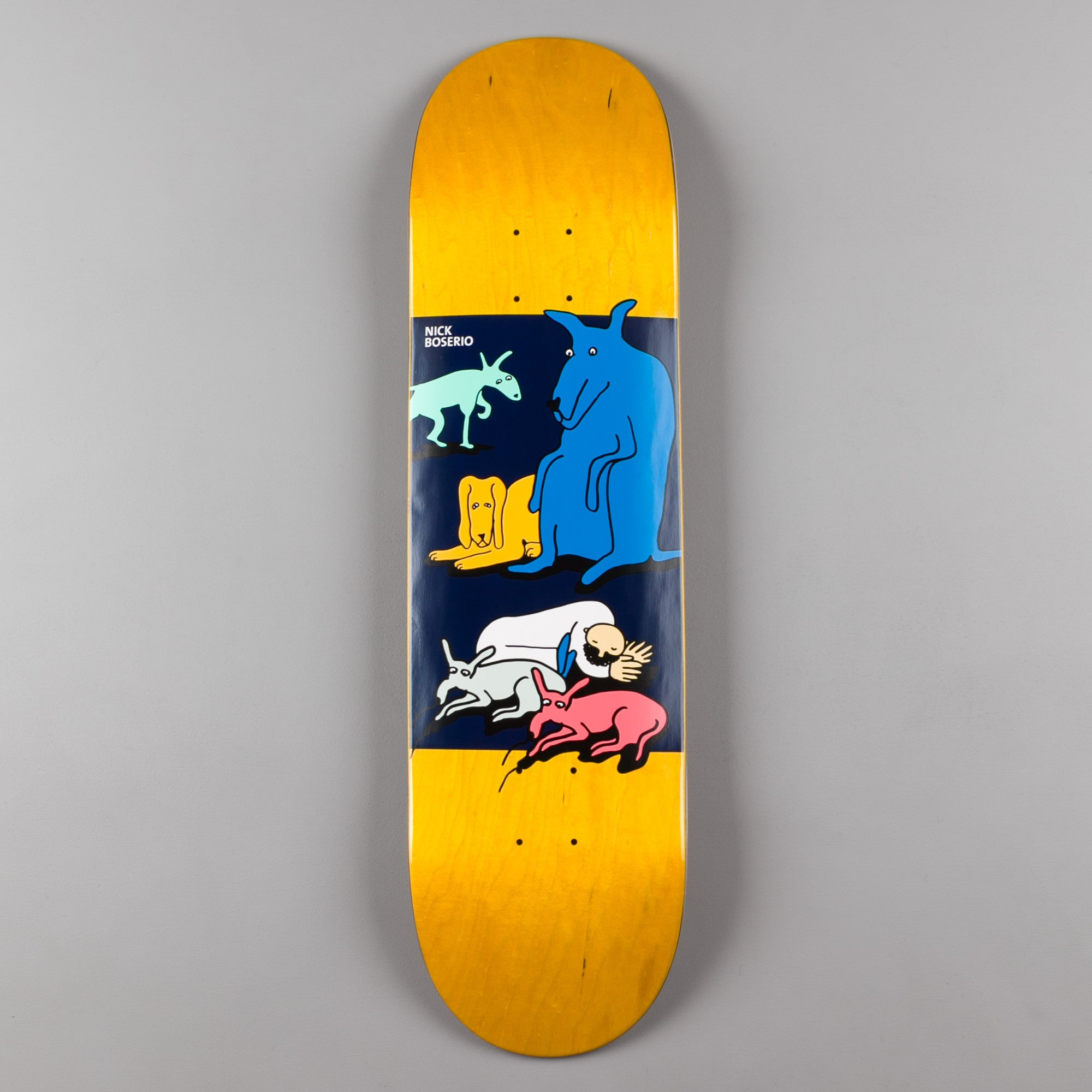 Polar Nick Boserio All My Dogs Deck - 8.5""