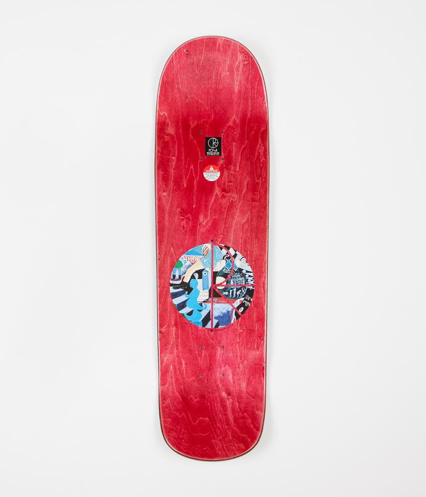 Polar Nick Boserio Running P8 Shape Deck - 8.8""