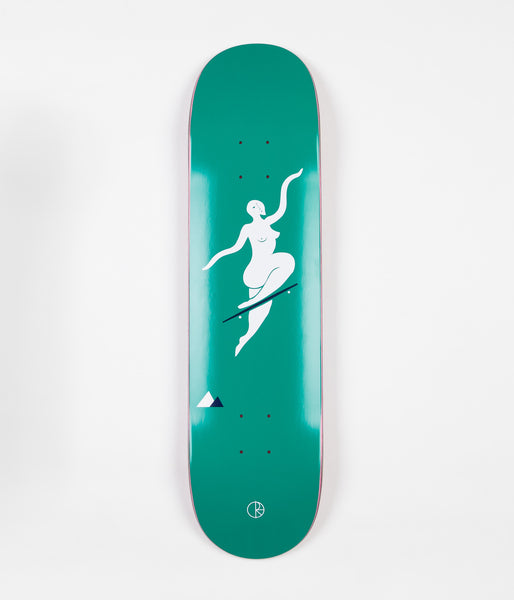 Polar No Complies Forever Deck - Green - 8""