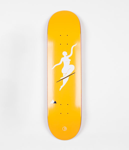 Polar No Complies Forever Deck - Yellow - 8.125""