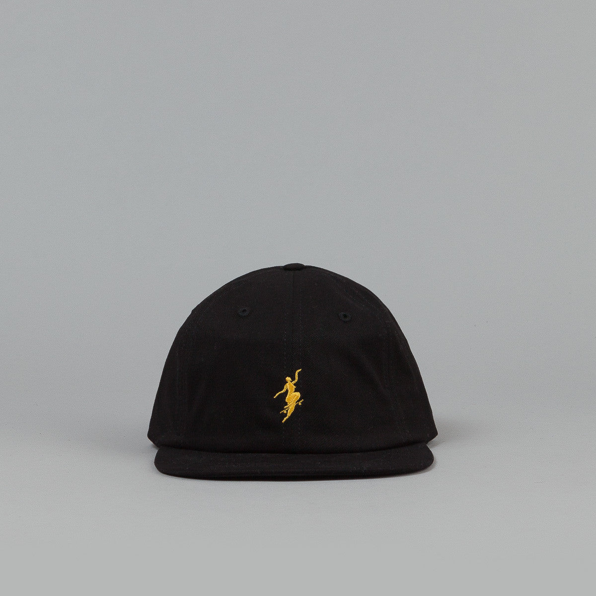 Polar No Comply Cap - Black / Yellow
