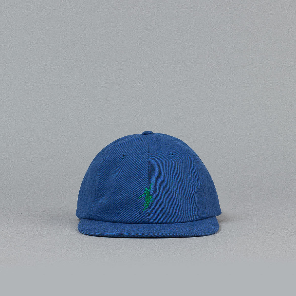 Polar No Comply Cap - Bright Navy / Green