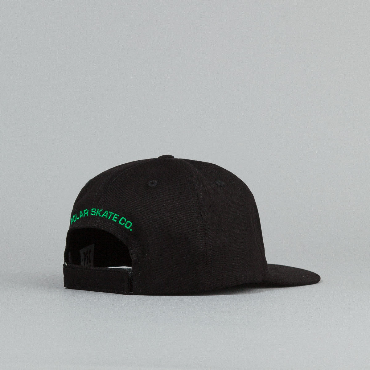 Polar No Comply Cap - Black / Green