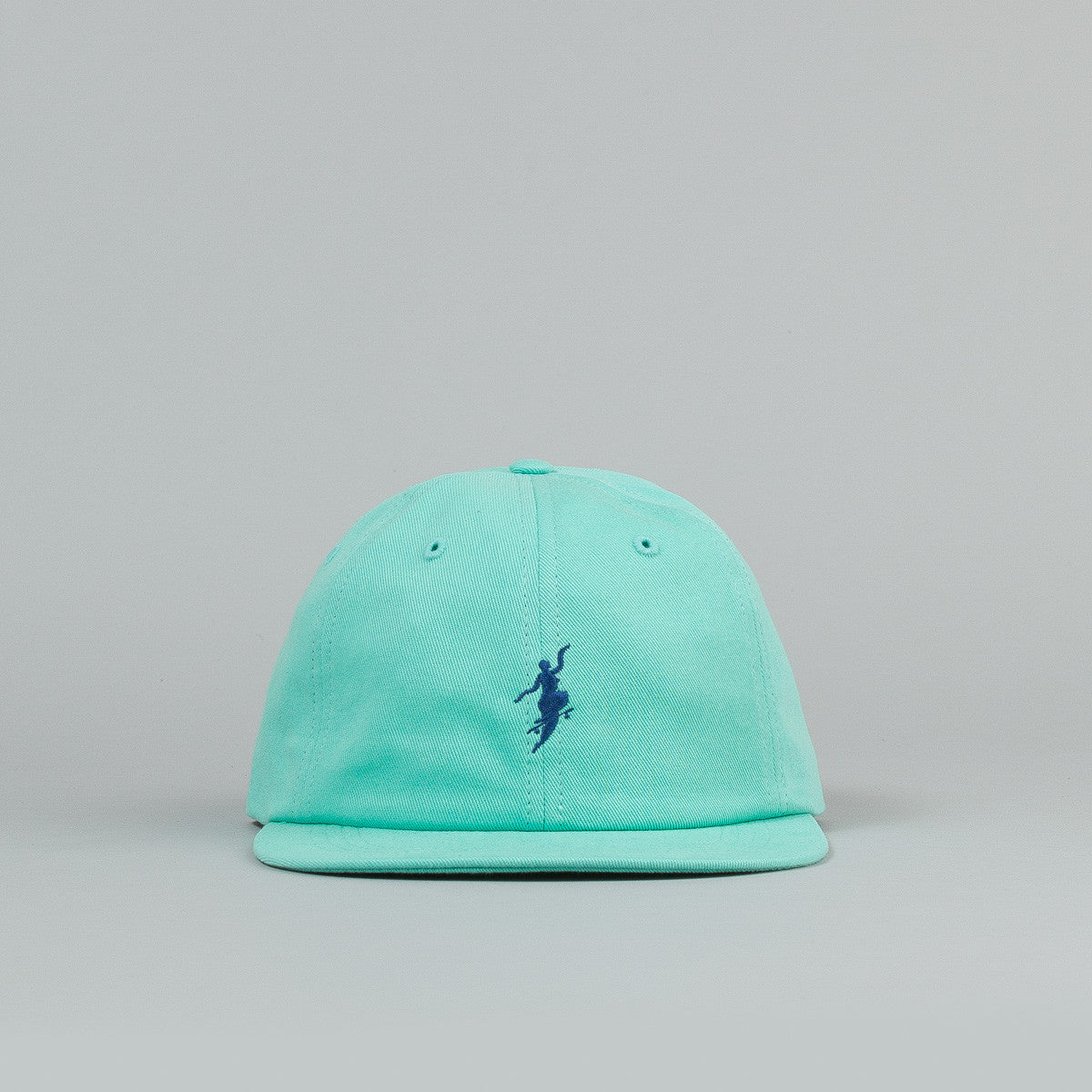 Polar No Comply Cap - Pastel Green / Navy