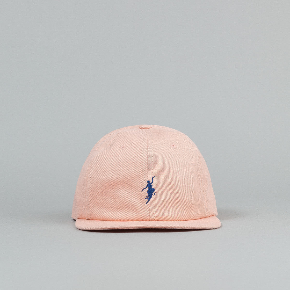 Polar No Comply Cap - Pastel Peach / Navy