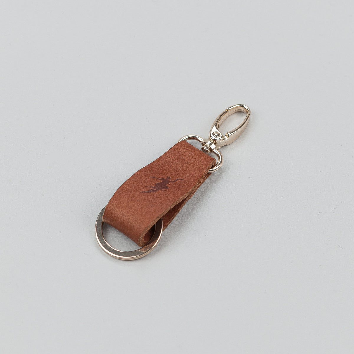 Polar No Comply Key Chain - Brown / Gold