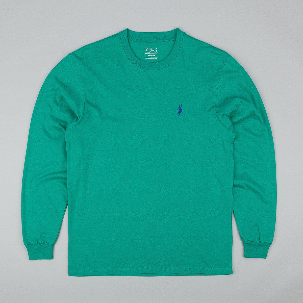 Polar No Comply Longsleeve T-Shirt - Sport Green / Blue