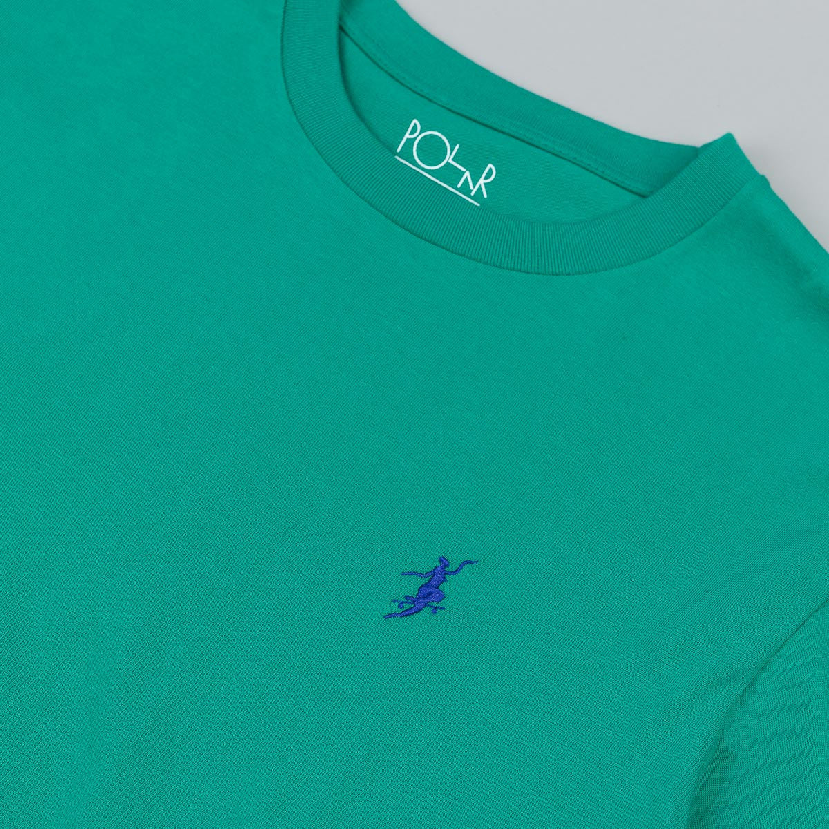 Polar No Comply Long Sleeve T-Shirt - Sport Green / Blue
