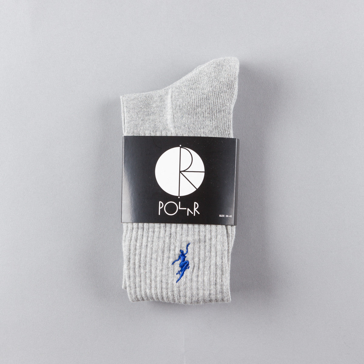 Polar No Comply Sport Sock - Heather Grey