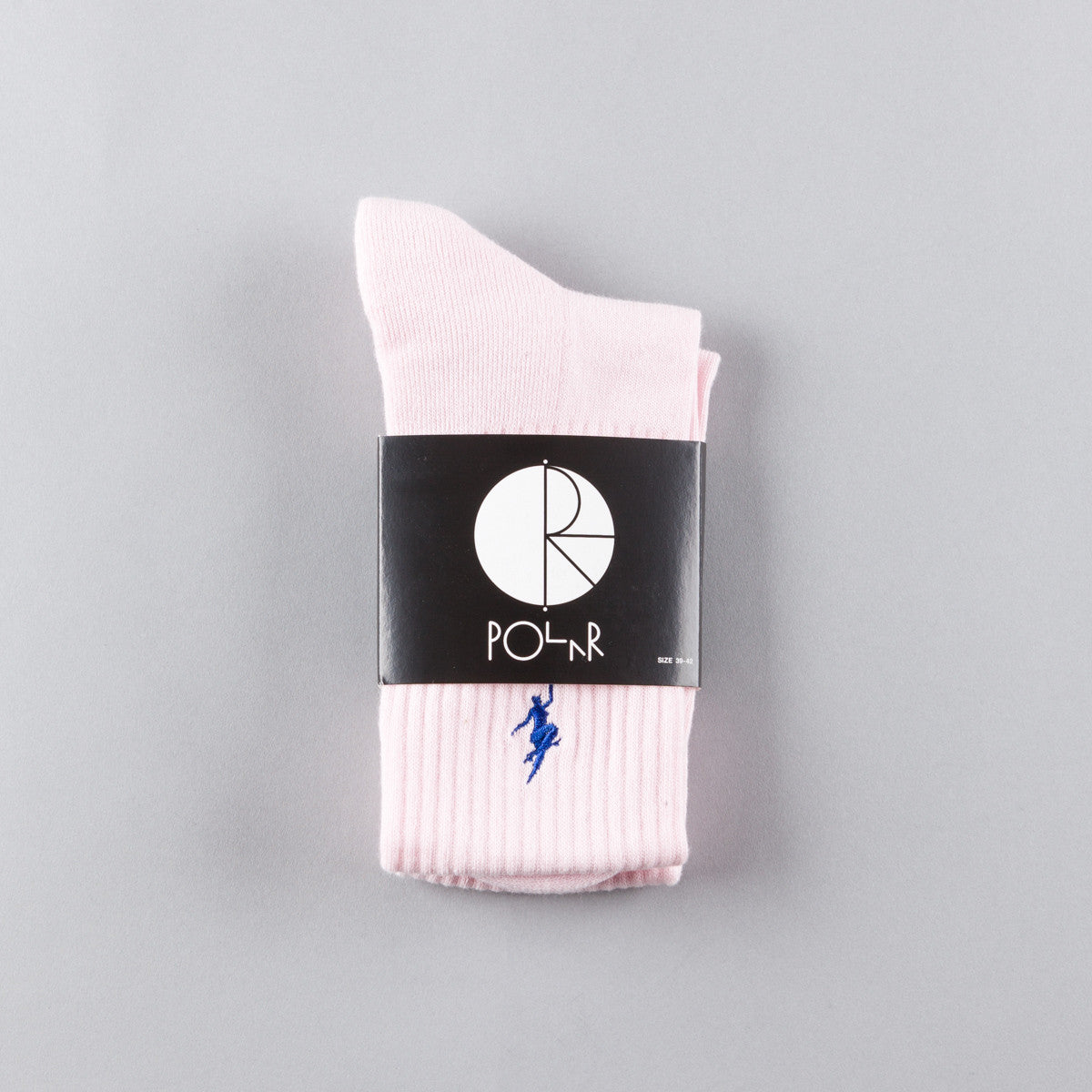 Polar No Comply Sport Sock - Pastel Pink
