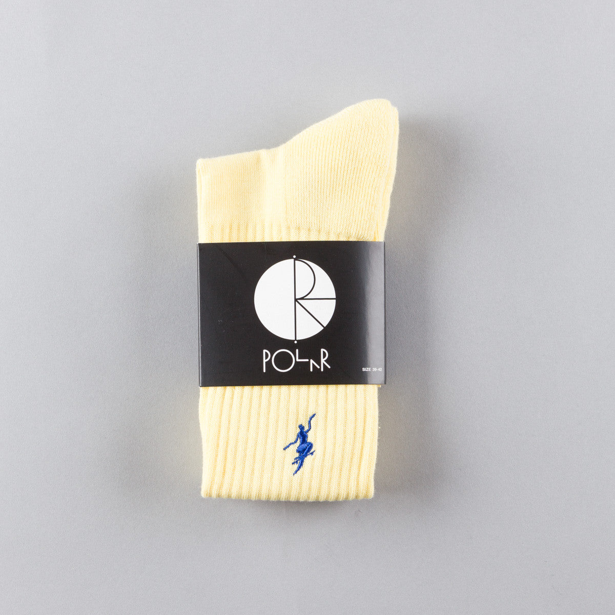 Polar No Comply Sport Sock - Pastel Yellow