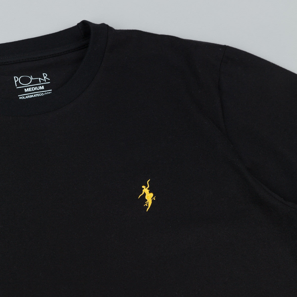 Polar No Comply T-Shirt - Black / Yellow