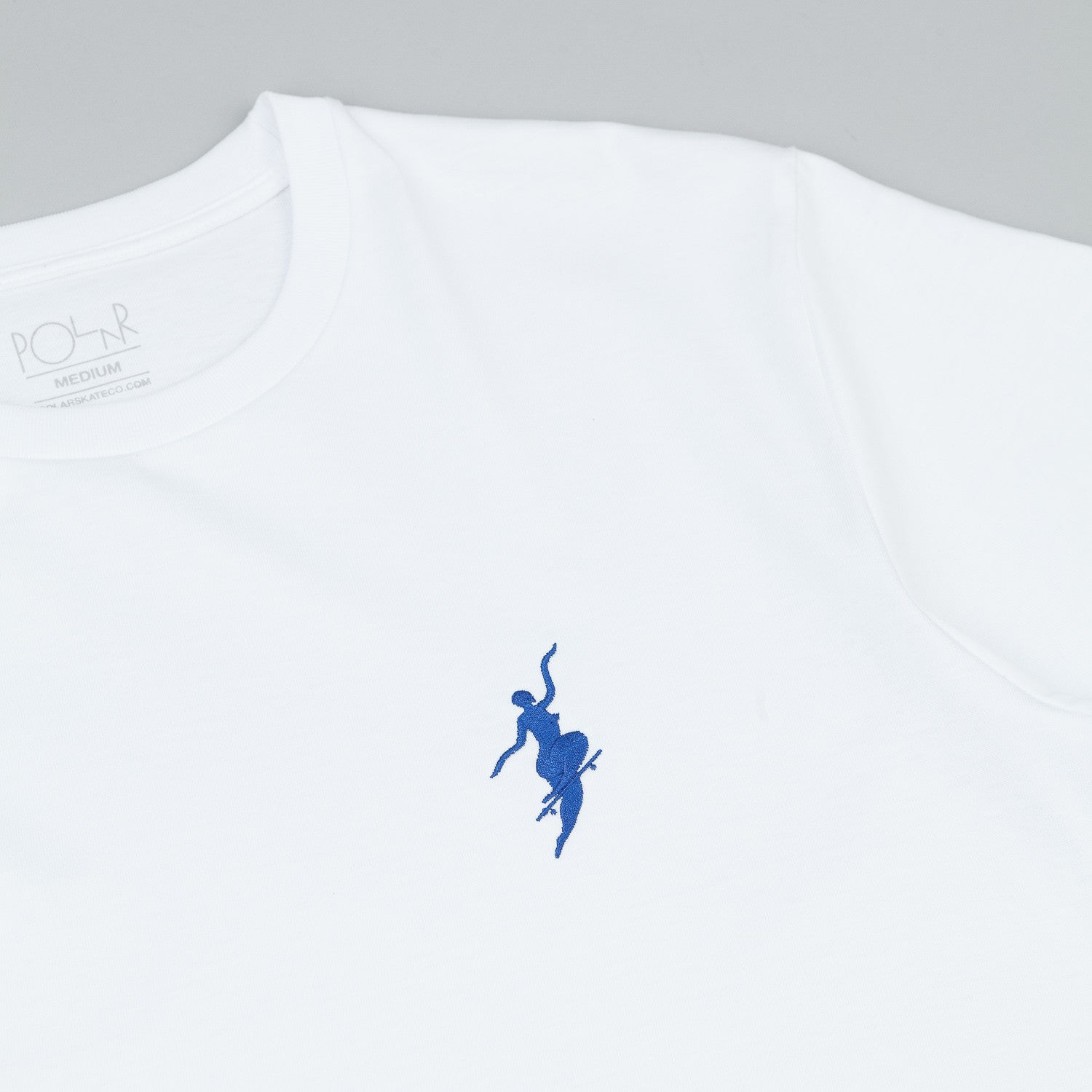 Polar No Comply T-Shirt - White / Navy
