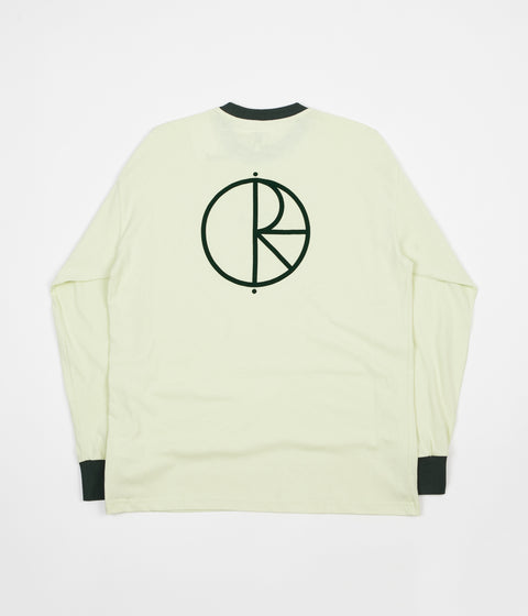 Polar Offside Long Sleeve T-Shirt - Seafoam Green / Dark Green