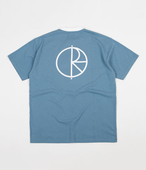Polar Offside T-Shirt - Grey Blue / White