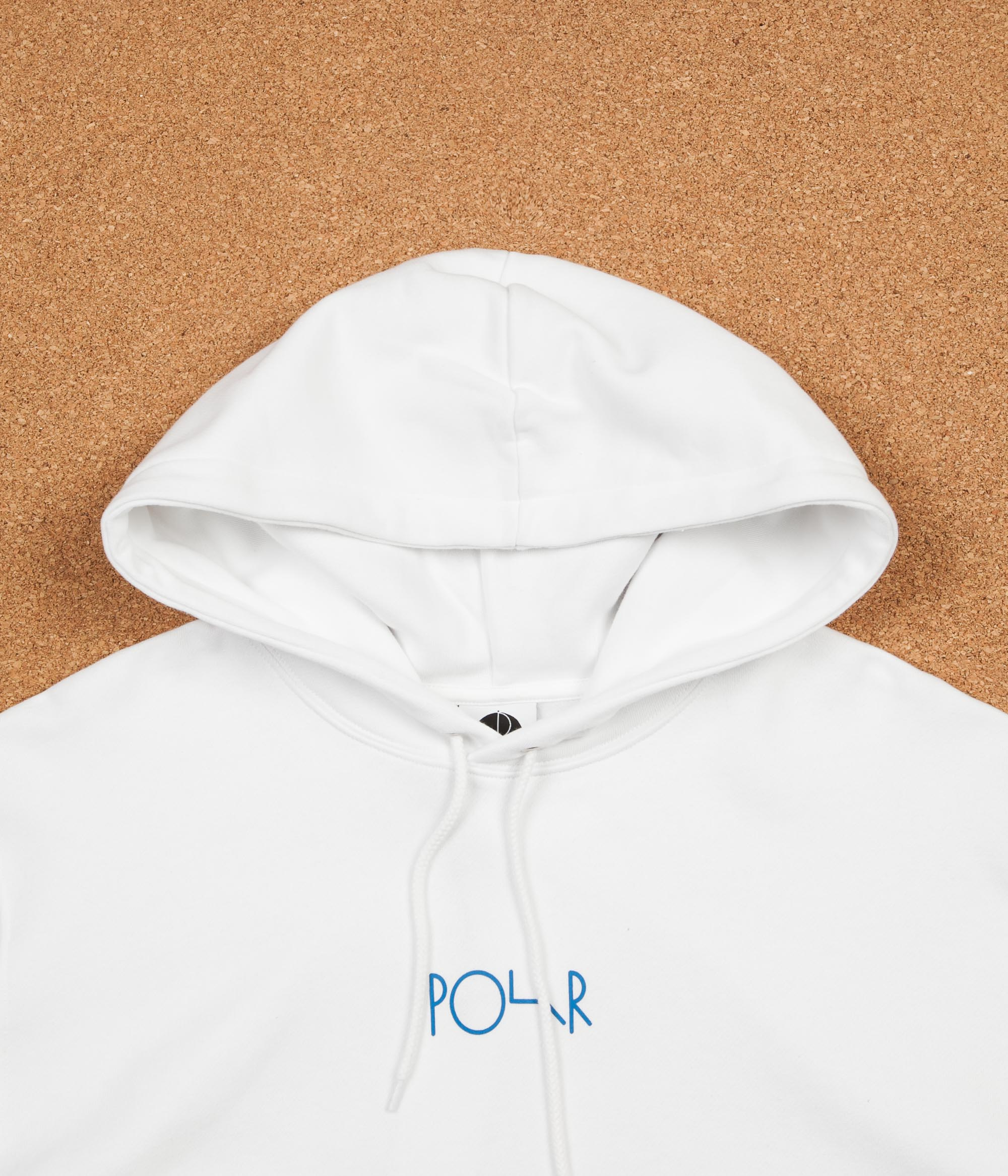 Polar Orchid Fill Logo Hoodie - White ... 8749df2ad35d