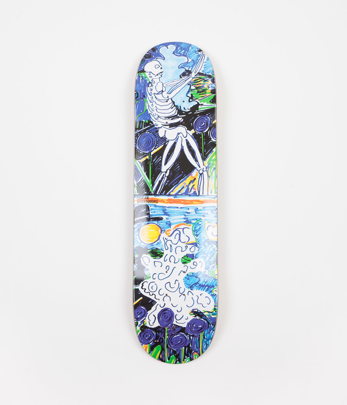 Polar Oskar Rozenberg Skeleton Deck - 8""