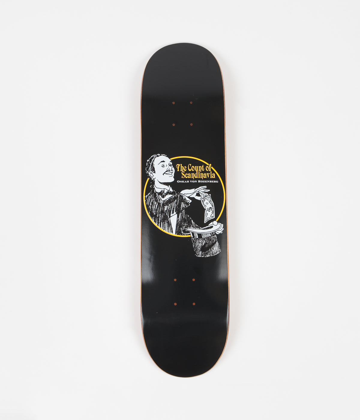 Polar Oskar Rozenberg The Count Deck - Black - 7.875""