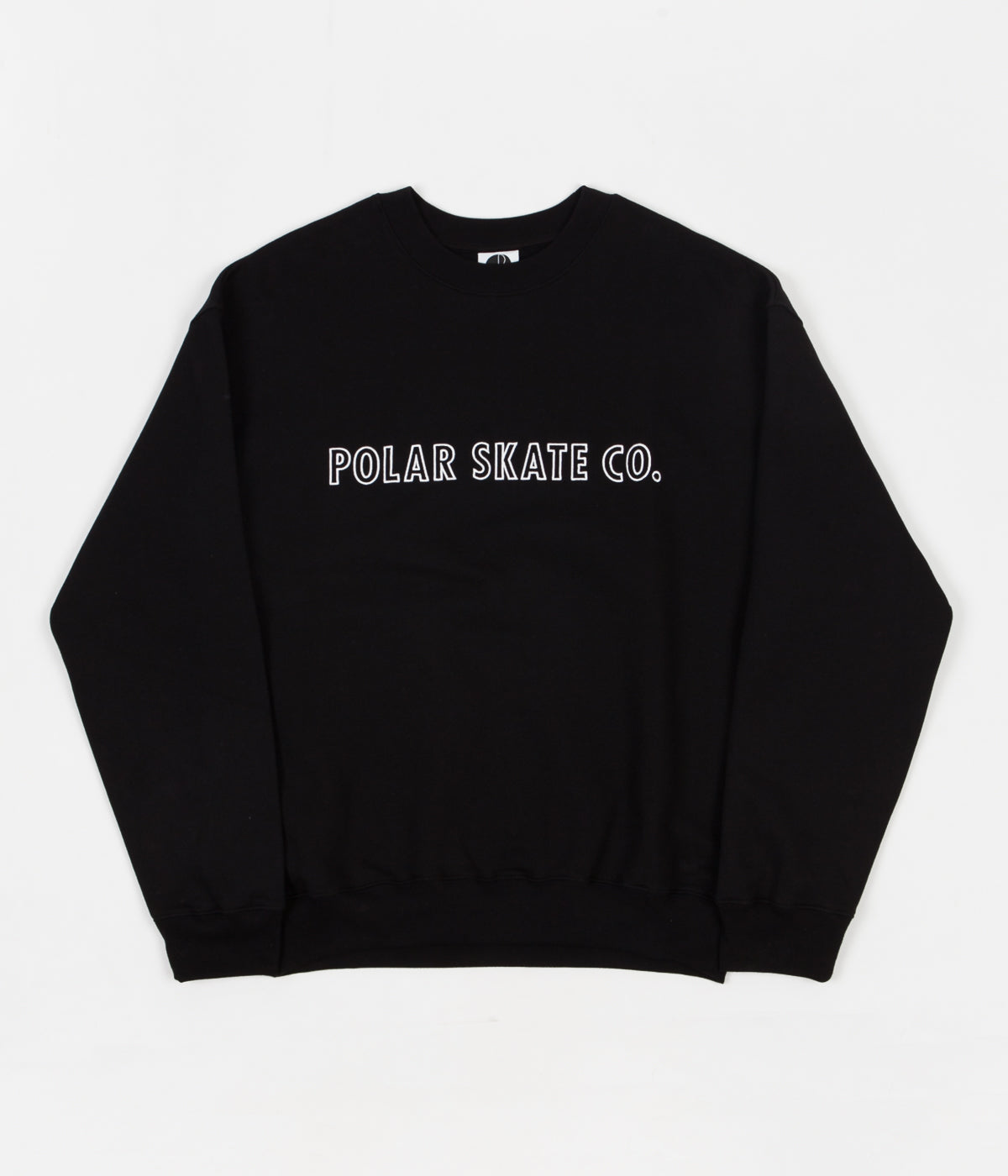 Polar Outline Crewneck Sweatshirt - Black