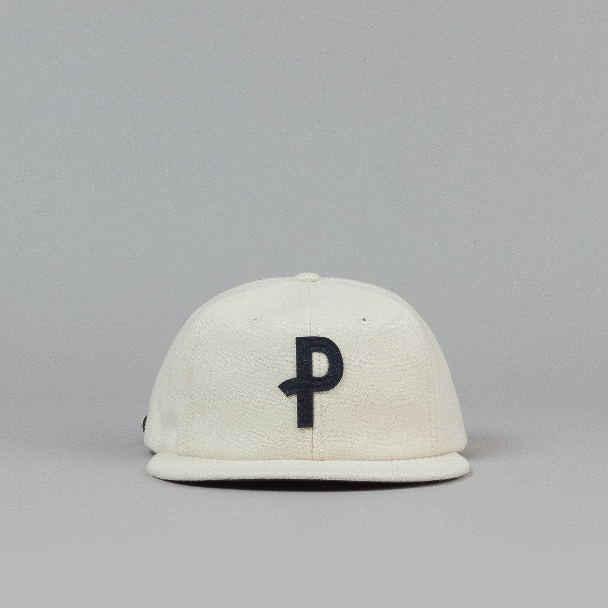 Polar P Wool Cap - White / Navy