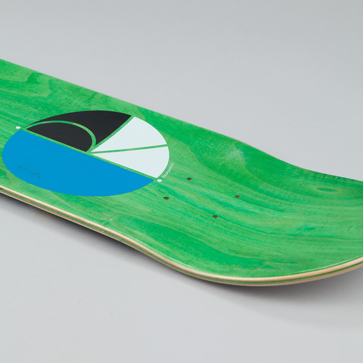 "Polar PA Wallride Nollie Deck - 8.125"" White / Navy"
