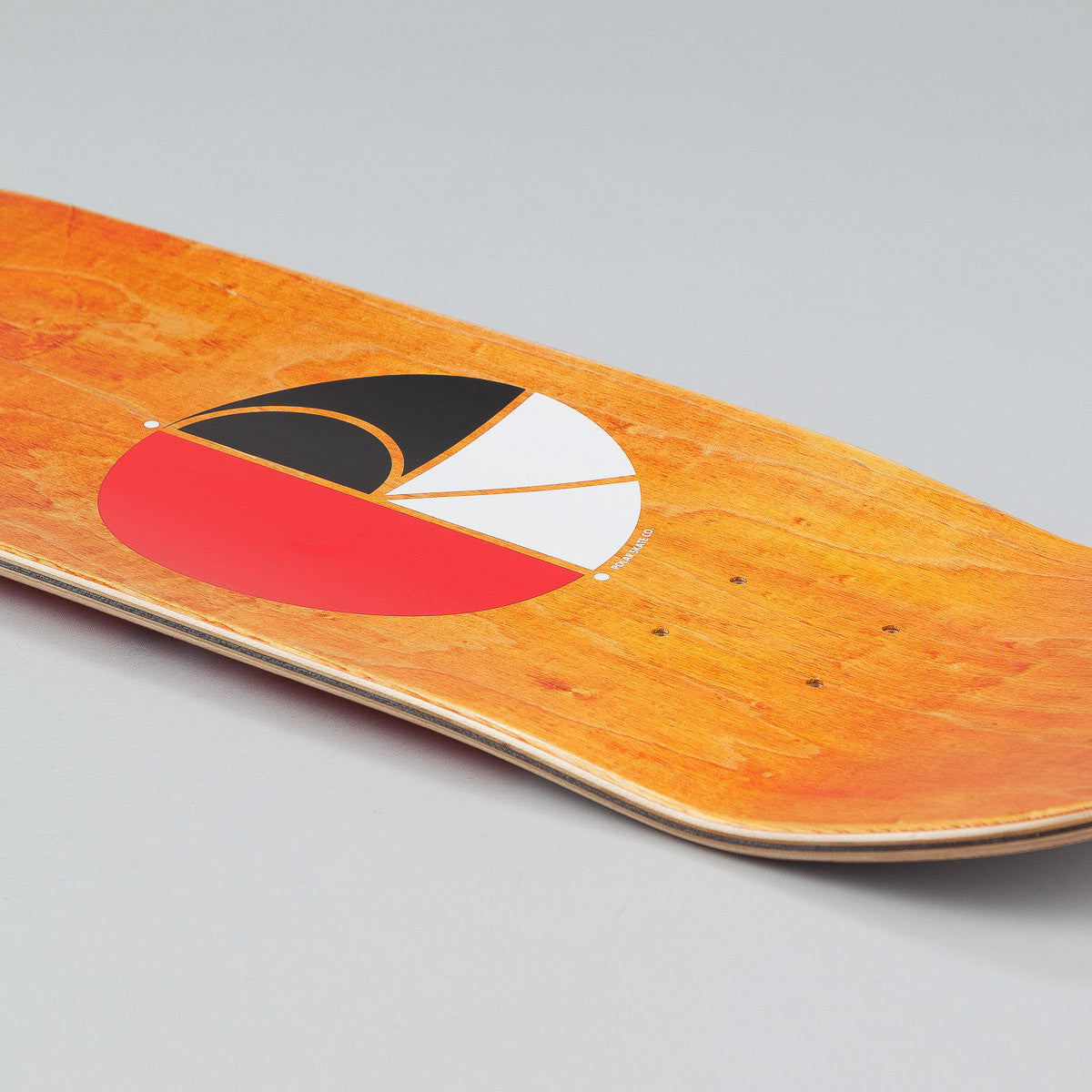 Polar PA Wallride Nollie Deck - P2 White / Red