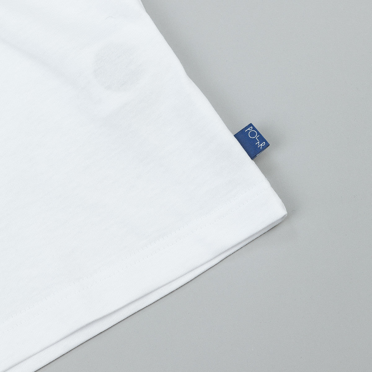 Polar Patch T-Shirt - White / Navy