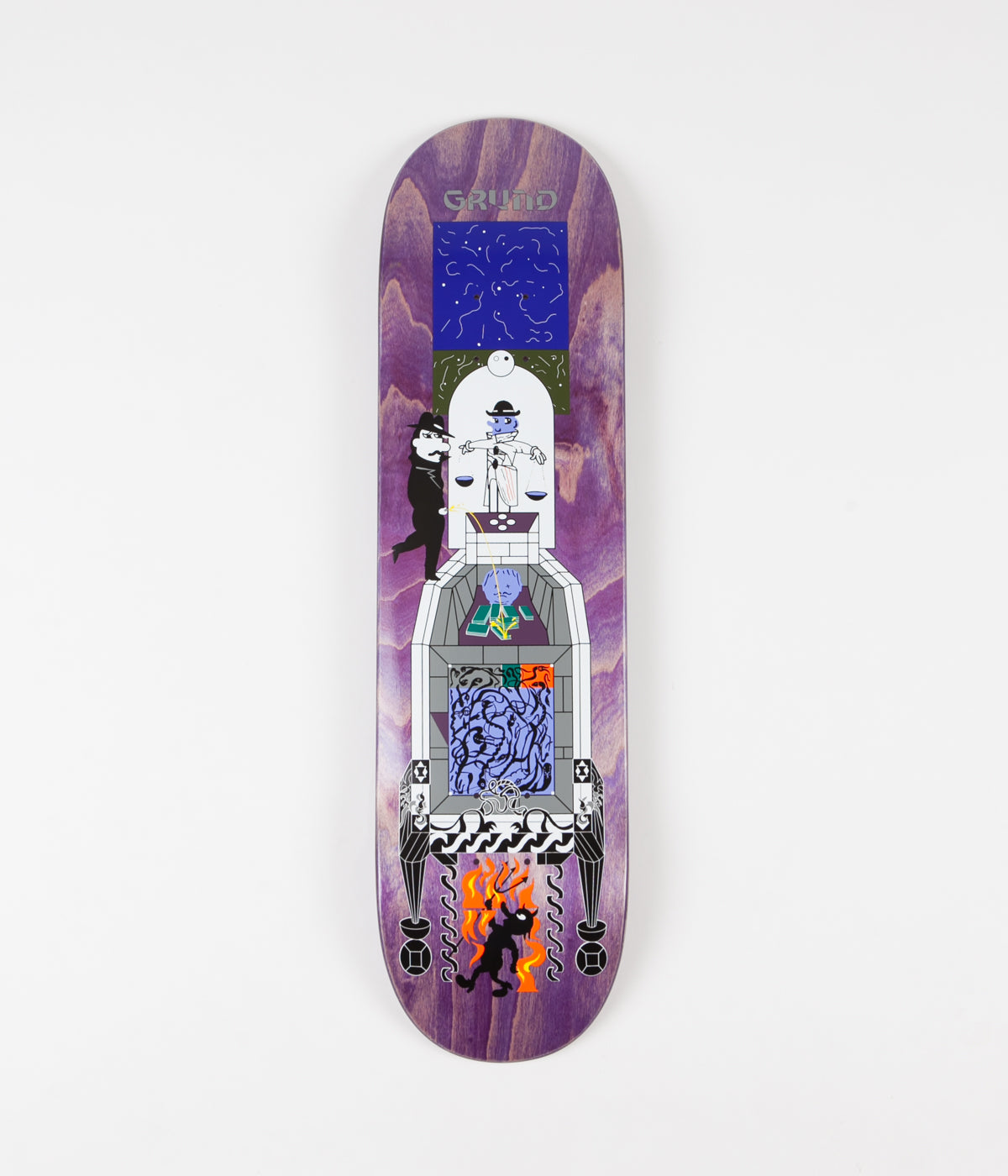 Polar Paul Grund Legacy Deck - 8.25""