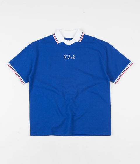 Polar Pique Surf Polo Shirt - Royal Blue