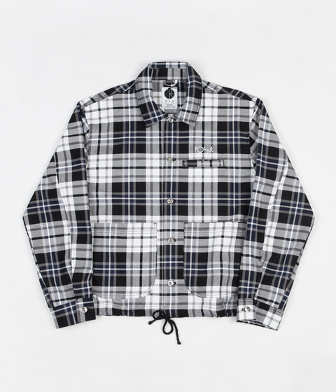 Polar Plaid Work Jacket - Grey