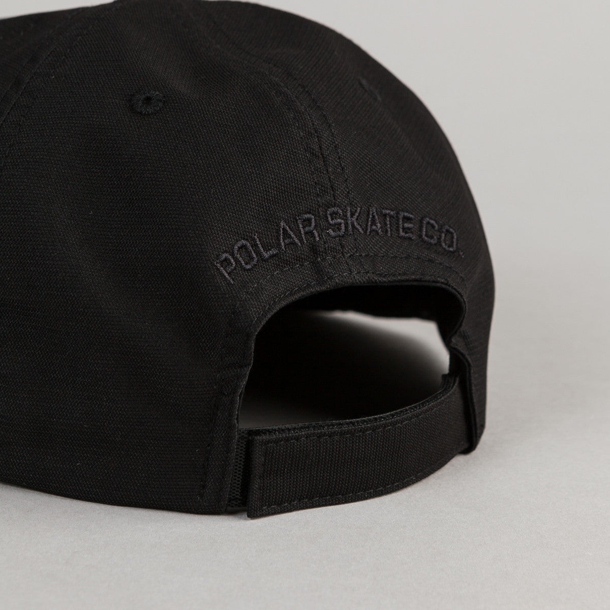 Polar Plain Cap - Black