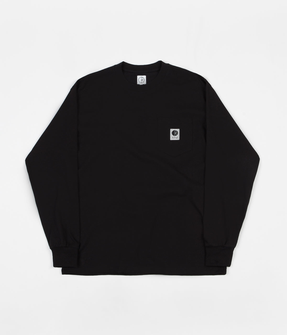 Polar Pocket Long Sleeve T-Shirt - Black
