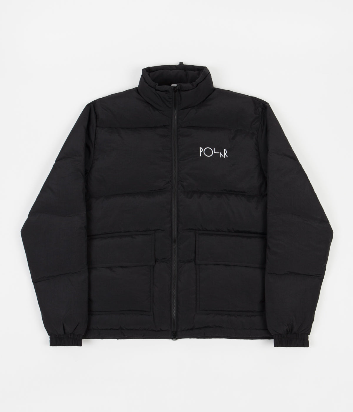 Polar Pocket Puffer Jacket - Black