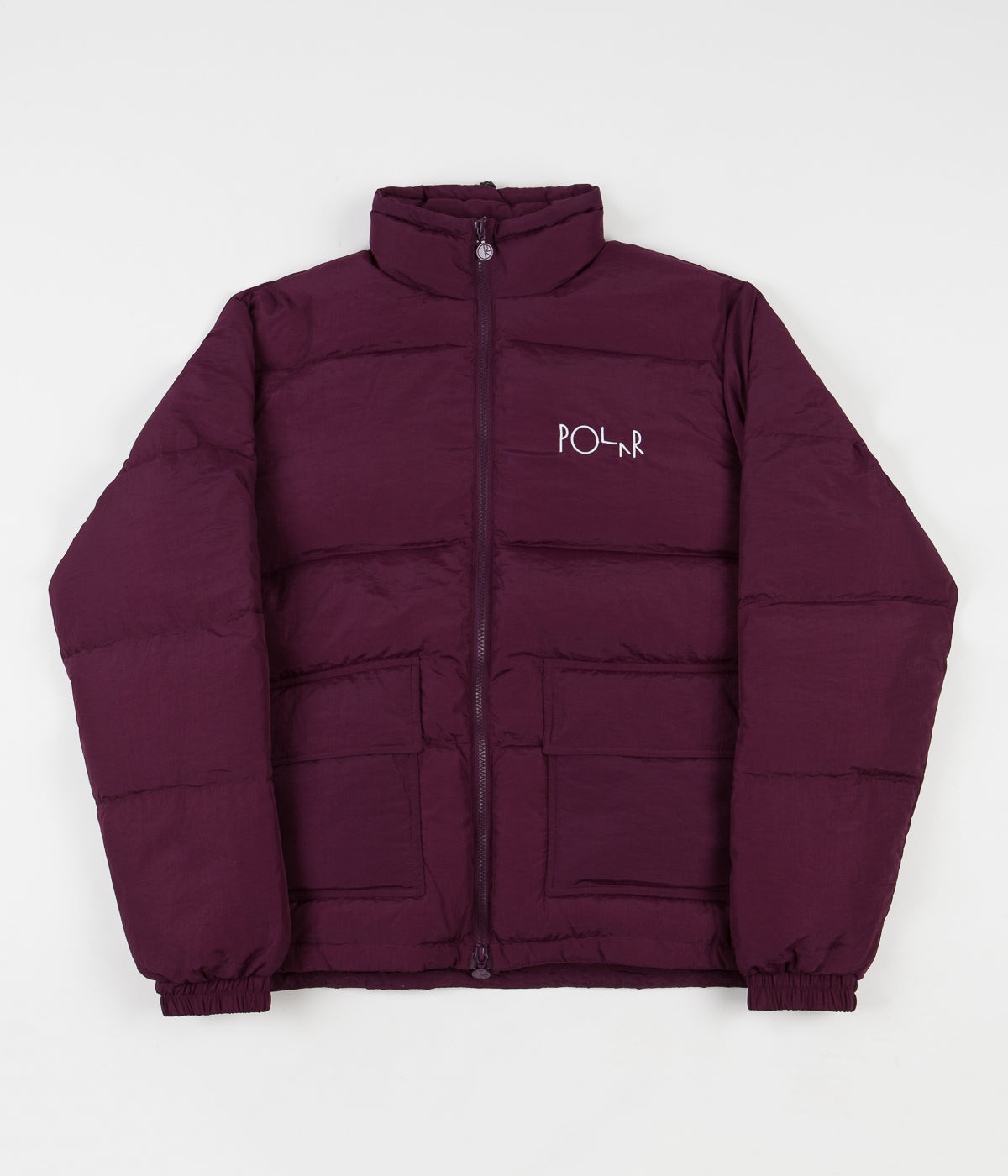 Polar Pocket Puffer Jacket - Prune