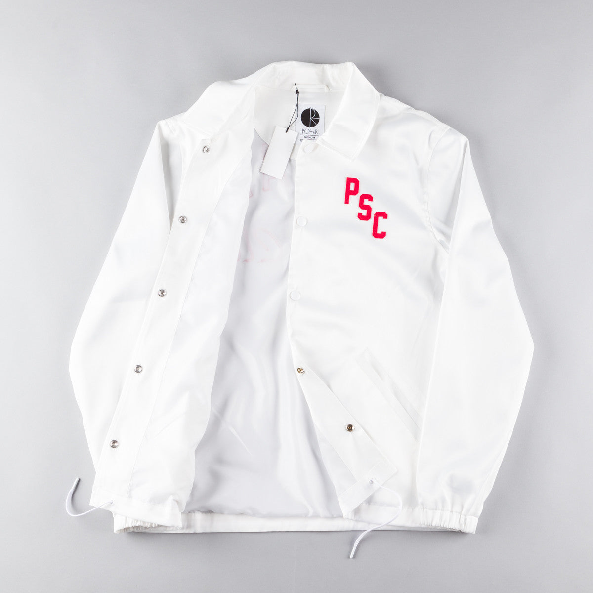 Polar Polar Skate Club Jacket - White