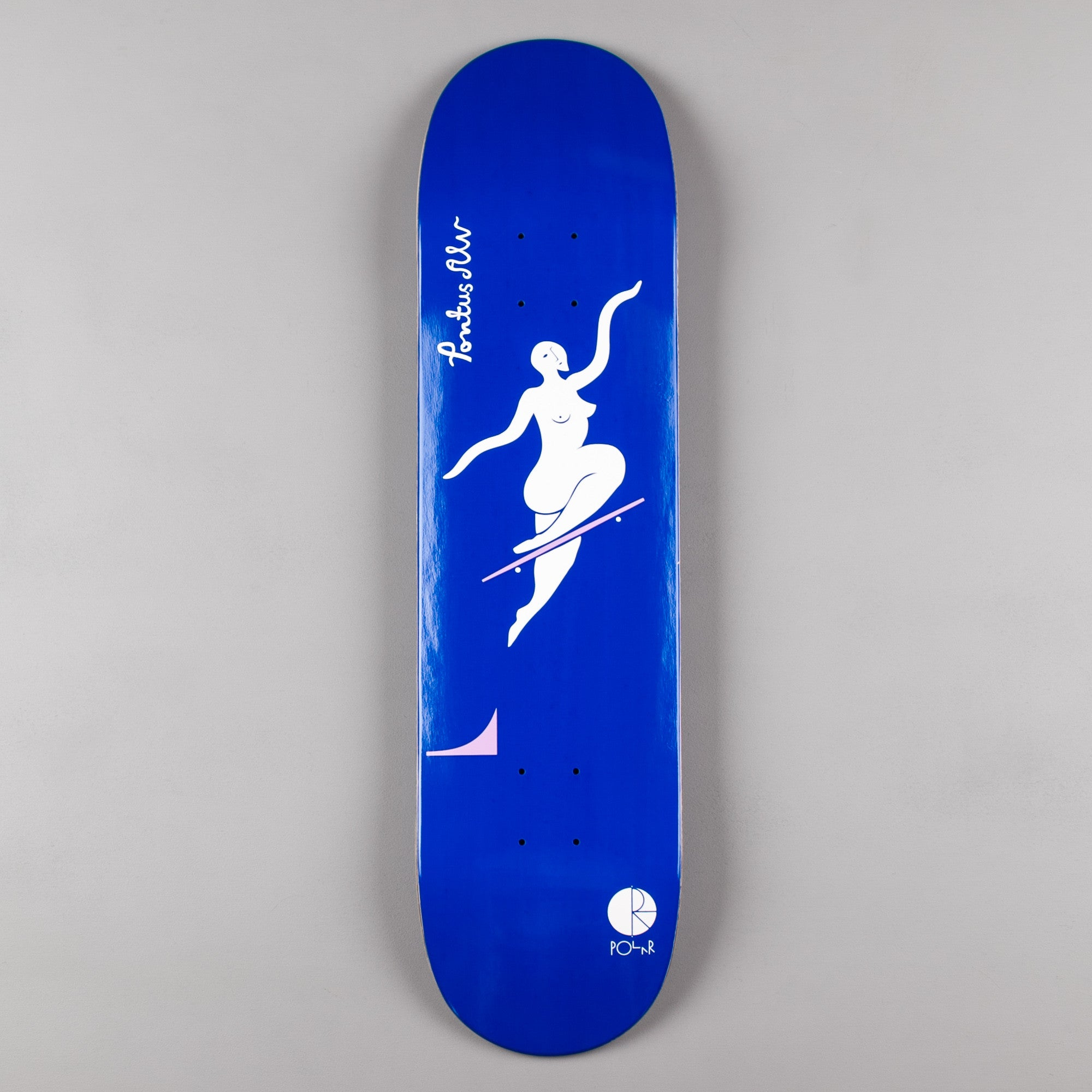 Polar Pontus Alv No Complies Forever Deck - Navy - 8""