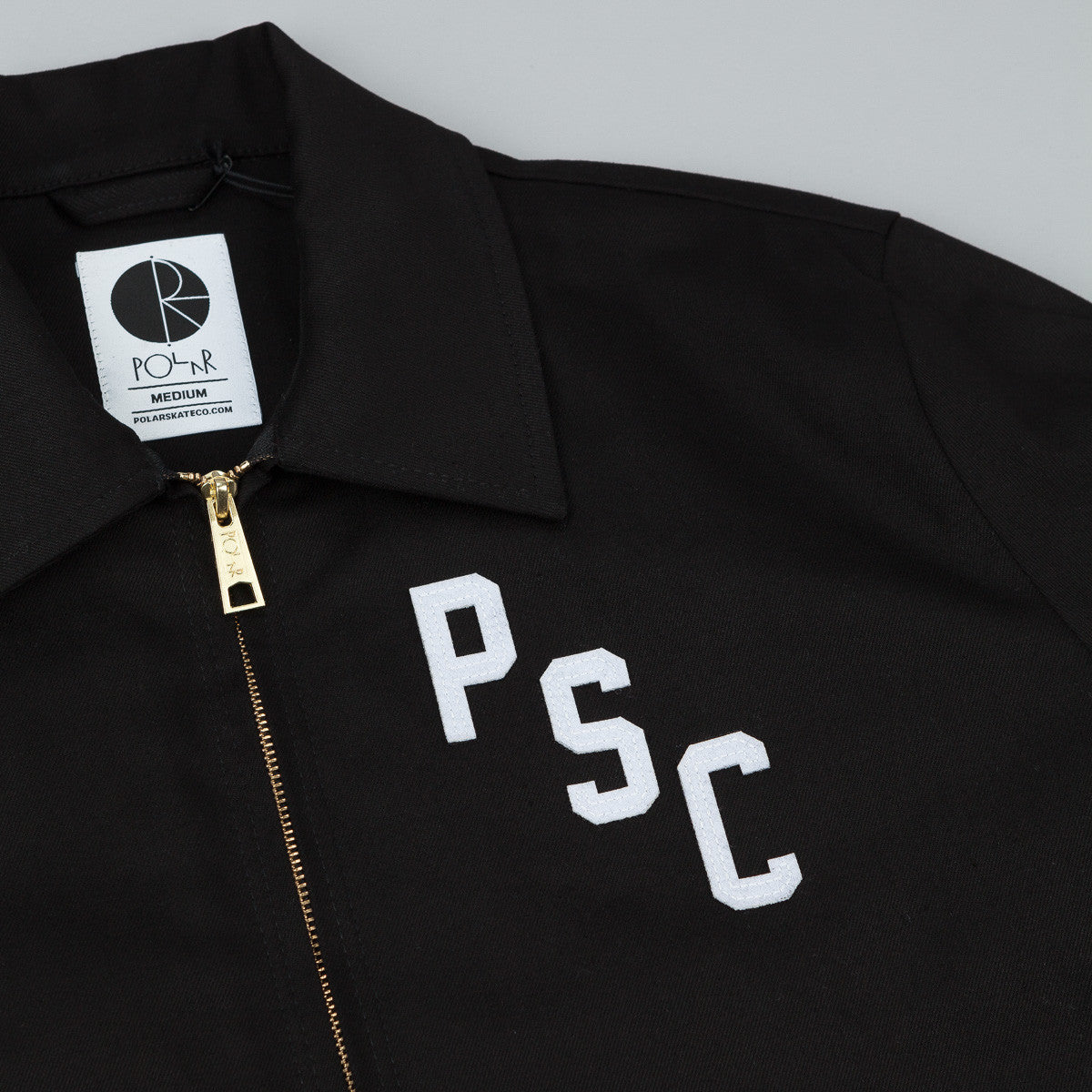 Polar PSC Ground Crew Jacket - Black / White