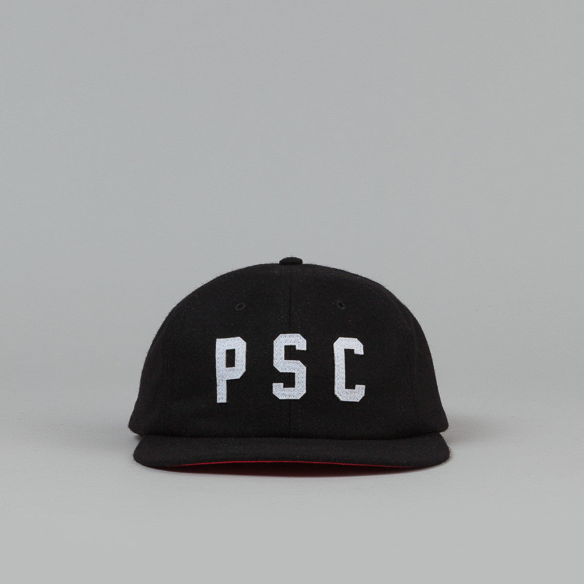 Polar PSC Ground Crew Wool Cap - Black / Red