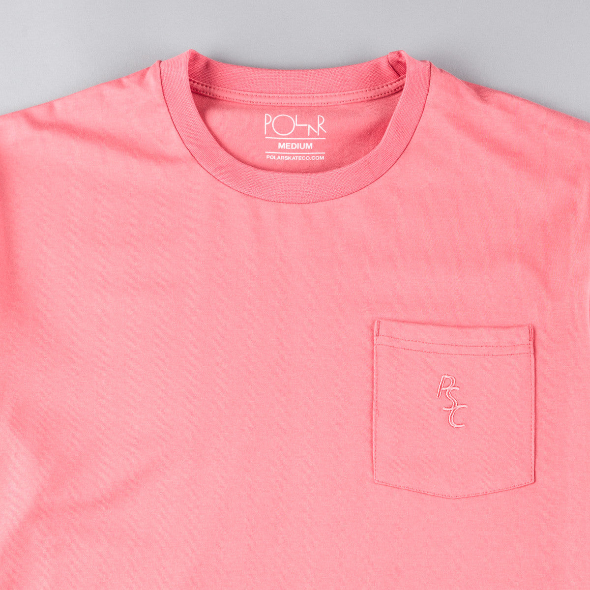 Polar PSC Pocket T-Shirt - Coral
