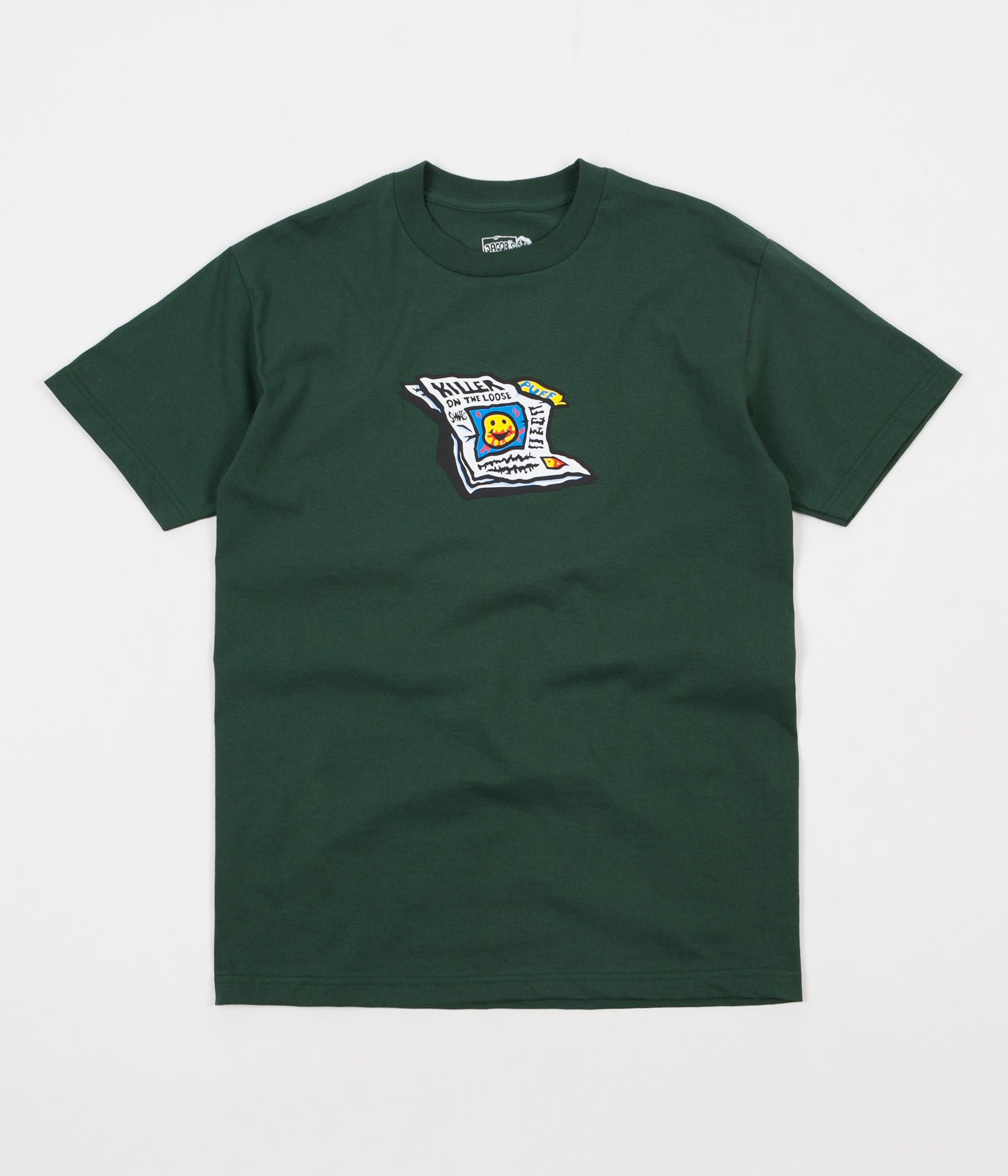 Polar Puff T-Shirt - Forest Green