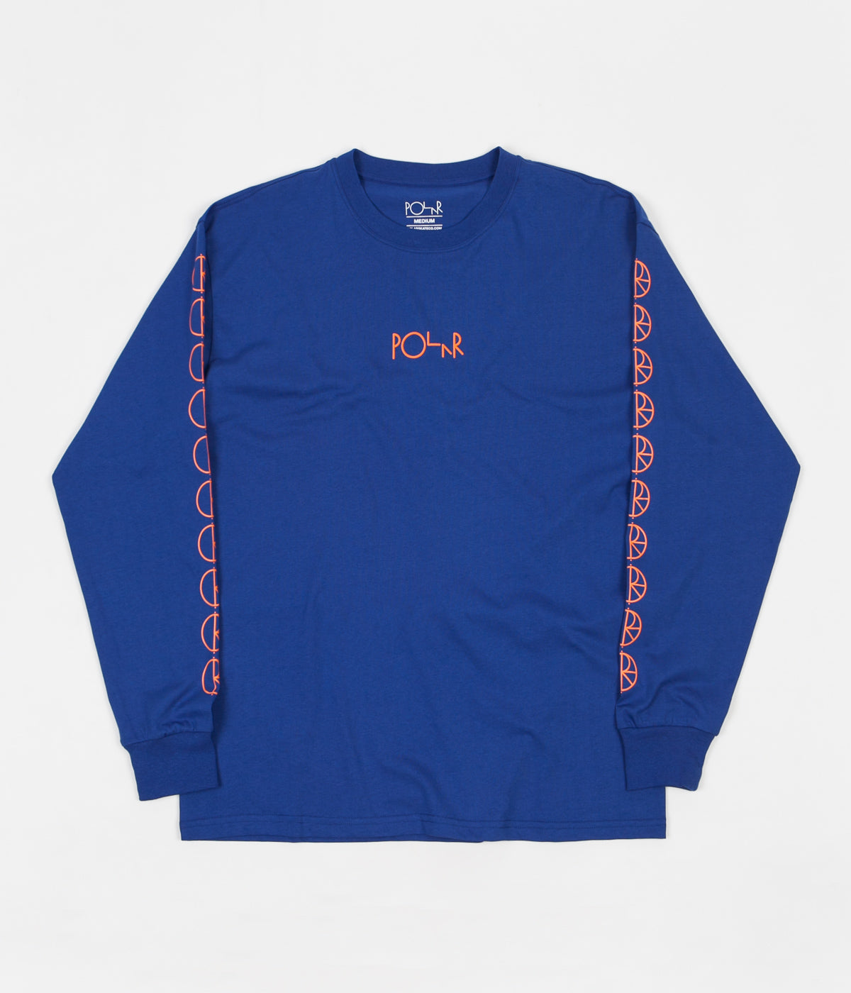 Polar Racing Long Sleeve T-Shirt -  80's Blue