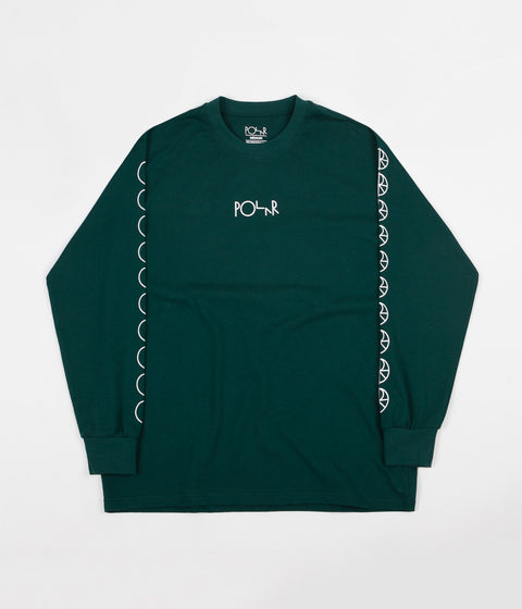 Polar Racing Long Sleeve T-Shirt - Dark Green